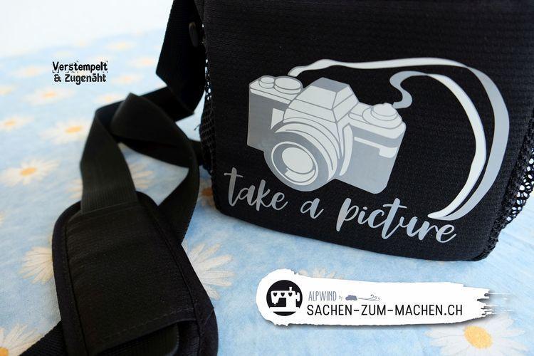 Makerist - Kameratasche und Tasse - Textilgestaltung - 3