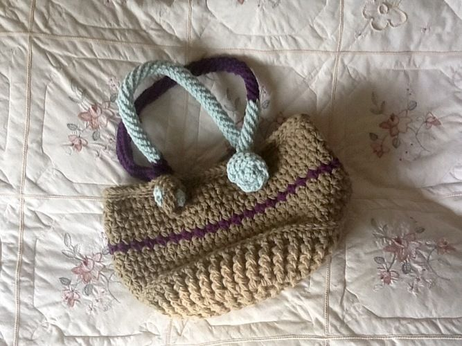 Makerist - Key Largo tote bag - Crochet Showcase - 1