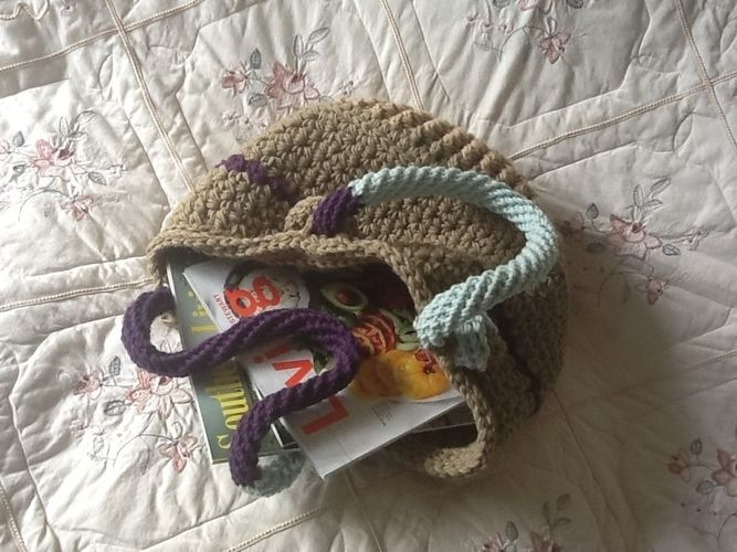 Makerist - Key Largo tote bag - Crochet Showcase - 2