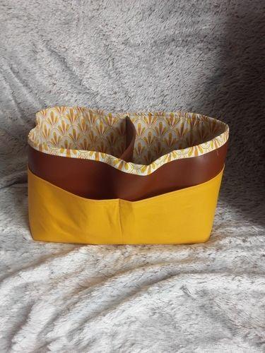 Makerist - Panier double barbapapa - Créations de couture - 1