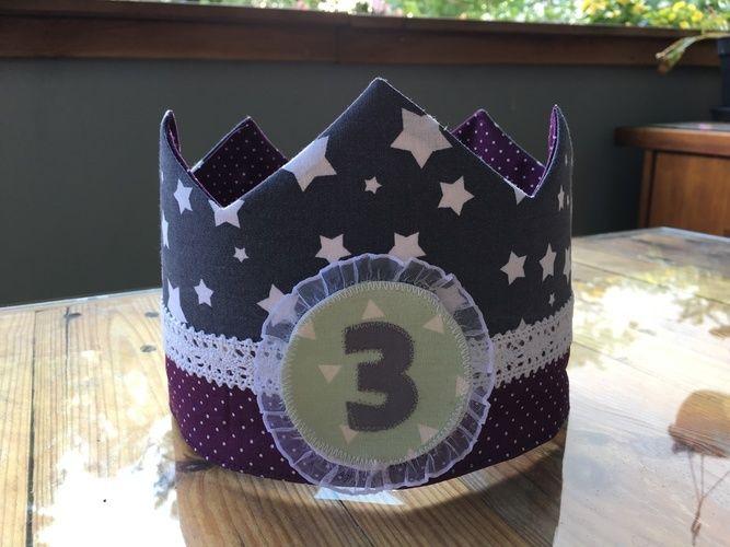 Makerist - Geburtstagskrone für's Patenkind  - Nähprojekte - 1
