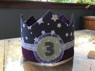 Geburtstagskrone für's Patenkind