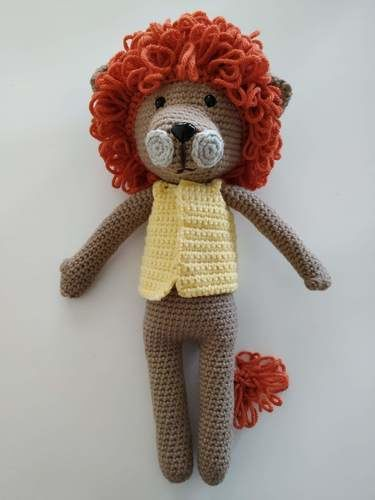 Makerist - Amigurumi – Saroo the lion - crochet – tutorial - Crochet Showcase - 1