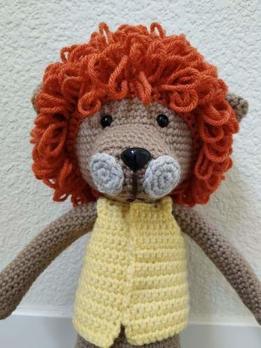 Makerist - Amigurumi – Saroo the lion - crochet – tutorial - Crochet Showcase - 3