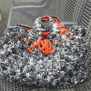 Makerist - Tasche mit Colour blocking Futter - 1