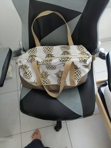 Makerist - Sac georges en Jacquard ananas - Créations de couture - 1