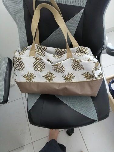 Makerist - Sac georges en Jacquard ananas - Créations de couture - 2