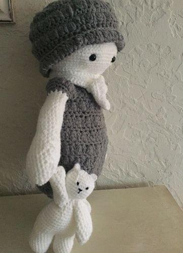 Makerist - Mon doudou et son doudou  - Créations de crochet - 1