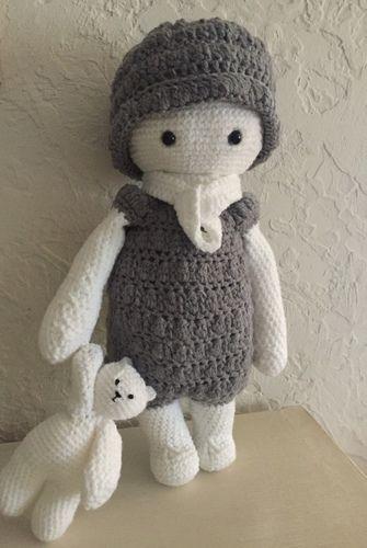 Makerist - Mon doudou et son doudou  - Créations de crochet - 2