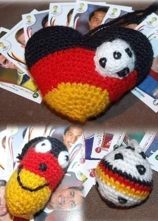 Deutschland WM Anhänger