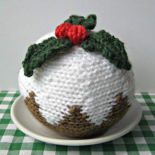 Makerist - Christmas Pudding - Knitting Showcase - 1