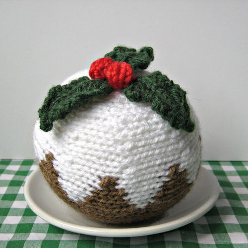 Makerist - Christmas Pudding - Knitting Showcase - 2