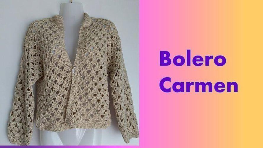 Makerist - Bolero Carmen - Häkelprojekte - 1