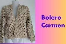 Makerist - Bolero Carmen - 1