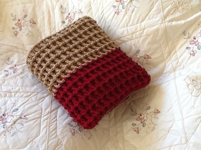 Makerist - Crocheted Textured Reversible Throw - Crochet Showcase - 3