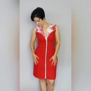 Makerist - Kleid Klänning aus Leinen - 1