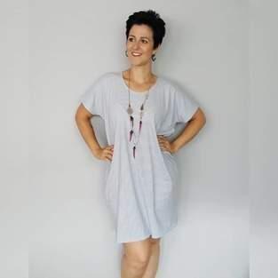 Kleid #tee aus Jersey