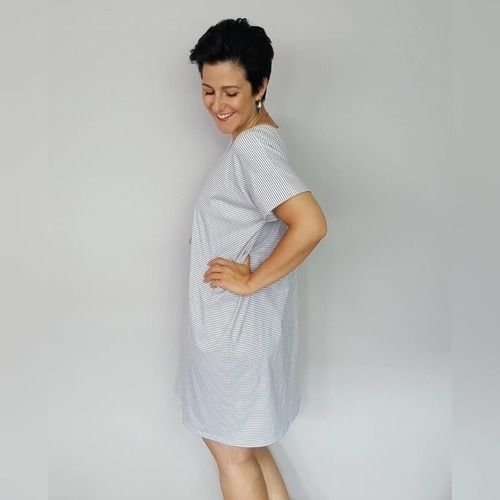 Makerist - Kleid #tee aus Jersey - Nähprojekte - 3
