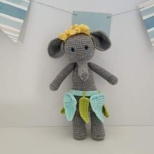 Makerist - Amigurumi – Amarante l'éléphante - crochet – tutoriel - 1