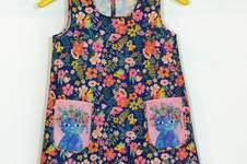 Makerist - Sommerkleidchen - Stoff floral pets - 1