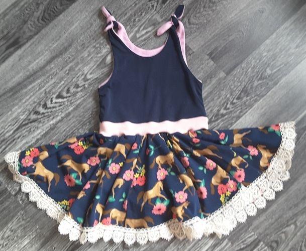 Makerist - Dance & Jump Kleid für meine Enkelin - Nähprojekte - 1
