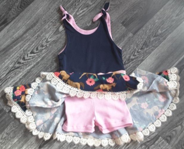Makerist - Dance & Jump Kleid für meine Enkelin - Nähprojekte - 2