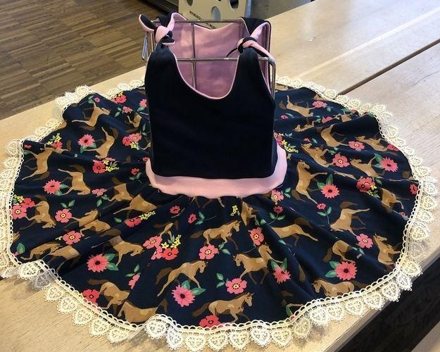 Makerist - Dance & Jump Kleid für meine Enkelin - Nähprojekte - 3