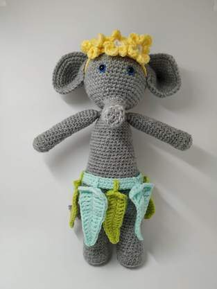 Makerist - Amigurumi – Constant the Elephant - crochet – tutorial - 1