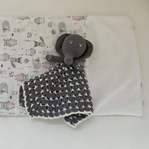Makerist - Security blanket elephant - Crochet Showcase - 2