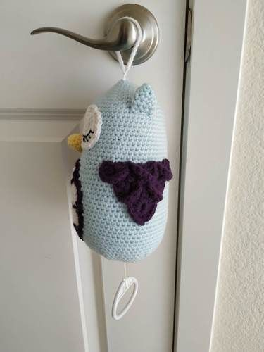 Makerist - Musical owl - Crochet Showcase - 2