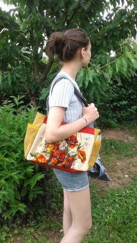 Makerist - Une tapisserie recyclée en sac - Créations de couture - 1
