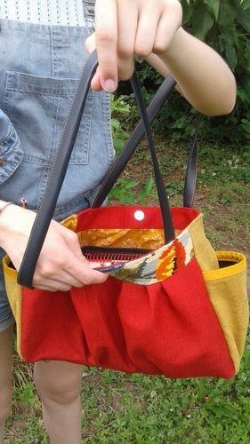 Makerist - Une tapisserie recyclée en sac - Créations de couture - 2