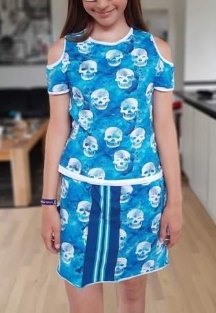 MAtordis Cut-out-Shirt für meine Tochter