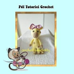 Makerist - tutoriels crochet  la girafe sofia - 1