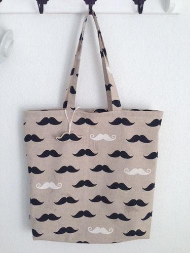 Makerist - Mustache Tasche - Nähprojekte - 1