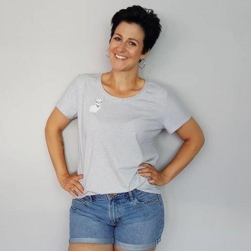 Makerist - T-Shirt Lamaliebe - Nähprojekte - 2