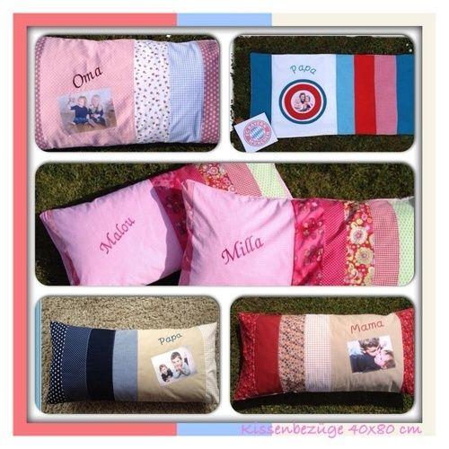 Makerist - Kissenbezüge 40x80 cm für unsere Family  - Nähprojekte - 1