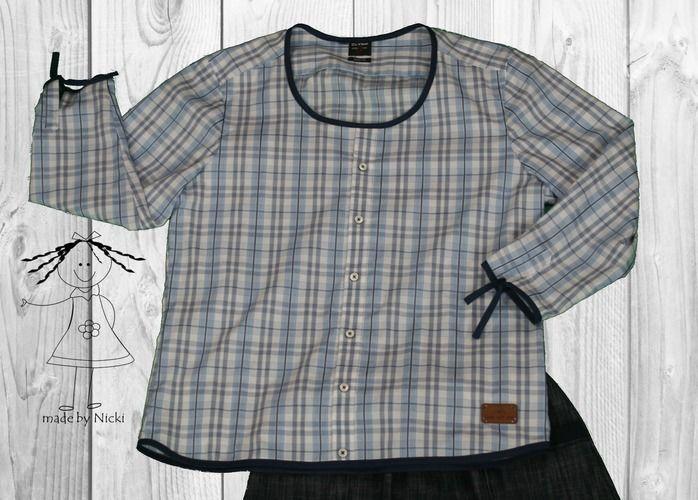 Makerist - Bluse aus einem Herrenhemd - Nähprojekte - 1