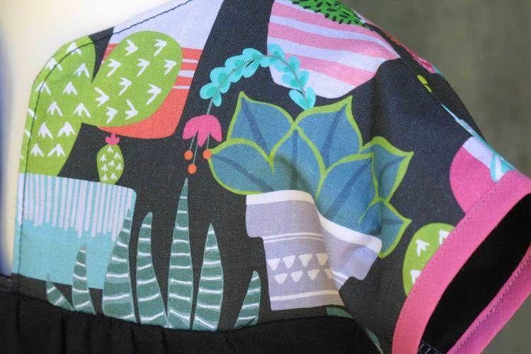 Makerist - Kleid mit Floralem - Nähprojekte - 2