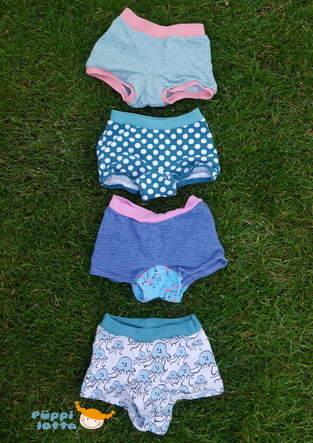 Makerist - Hipster Panty für Mädchen - 1