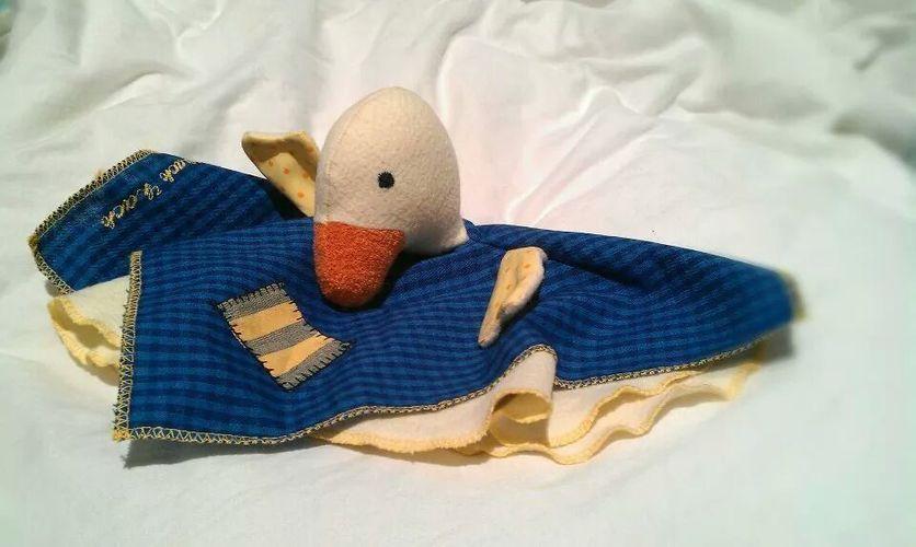 Makerist - Schmusetuch-Ente für meinen Sohn - Nähprojekte - 1