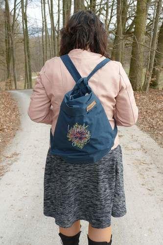 Makerist - Yello Bag mit Rucksack Henkeln - Nähprojekte - 2