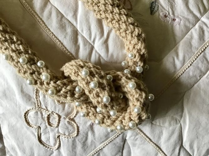 Makerist - Knotted Pearl Pendant  - Crochet Showcase - 1