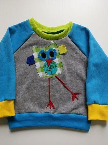 Makerist - Shirt mit Eule - Nähprojekte - 1