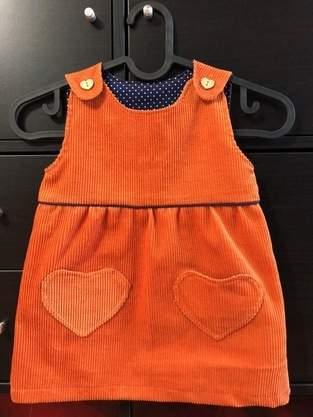 Makerist - Kleid aus Cordstoff mit Taschen  - 1