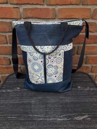 Makerist - Mila Uni Bag von Unikati (Upcycling) - 1