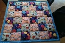 Makerist - Patchwork Babydecke - 1
