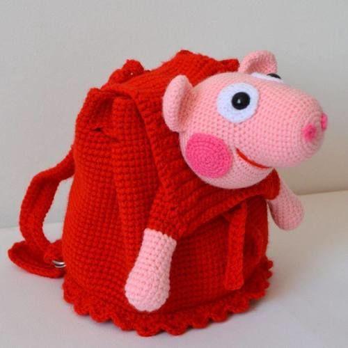 Makerist - SAC A DOS ENFANT - Créations de crochet - 1
