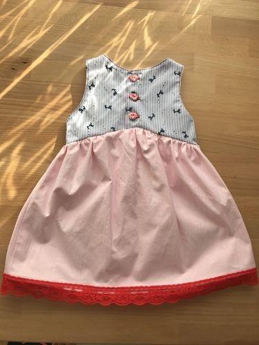Makerist - Erstes Dirndl-Kleid für meine Nichte  - Nähprojekte - 2
