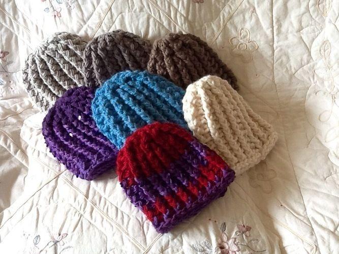 Makerist - Chunky Unisex Crocheted Hat - Crochet Showcase - 1